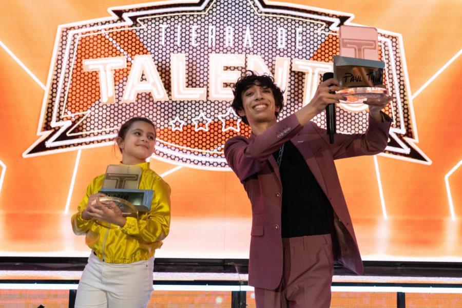 Paul Thin y Andrea Beltrán, ganadores de la cuarta edición de 'Tierra de Talento'